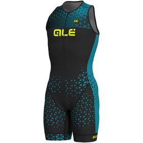 Alé Cycling Rush Tri Sleeveless Unitard Long Herren black-ottanio